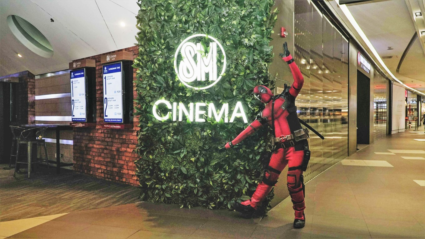 Deadpool invades SM Cinema