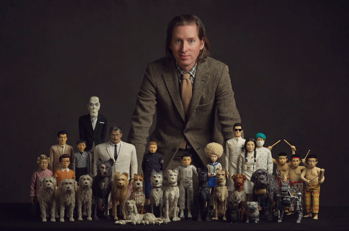 director Wes Anderson _ ISLE OF DOGS