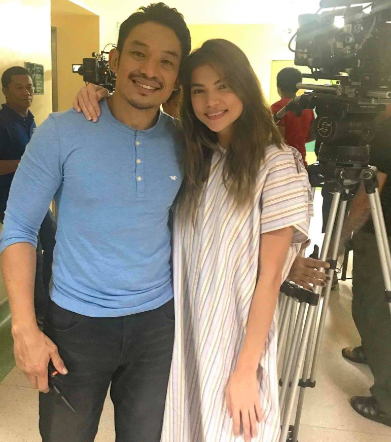 Direk Vincent Soberano and Rhian Ramos