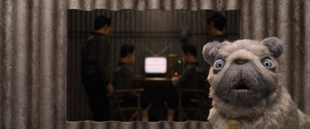 """Tilda Swinton as """"Oracle"""" in the film ISLE OF DOGS. Photo Courtesy of Fox Searchlight Pictures. © 2018 Twentieth Century Fox Film Corporation All Rights Reserved"""