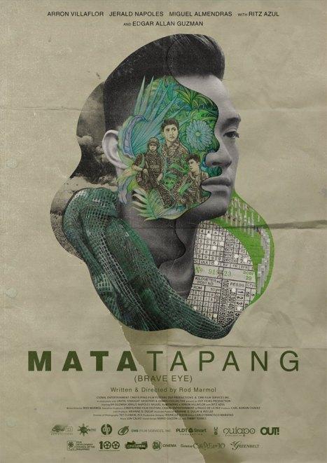 Poster Mata Tapang