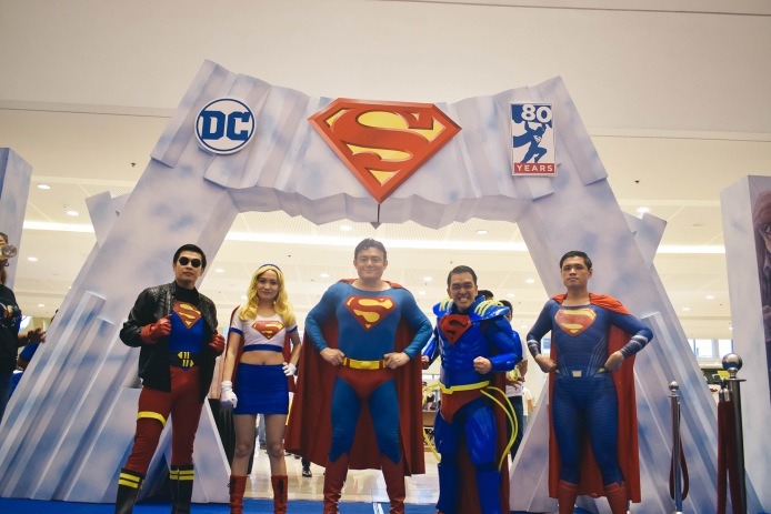 Superman Cosplayers at the event (2)