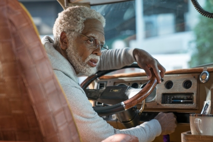 "Kyrie Irving as ""Uncle Drew"" in UNCLE DREW. Photo by Quantrell Colbert."