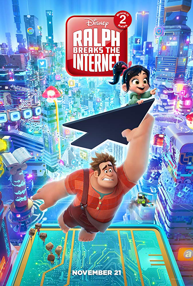 21 Ralph Breaks the Internet