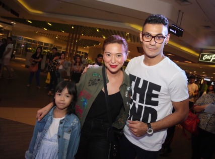 Gab Valenciano and Joyce Pring
