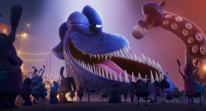 Kraken (Joe Jonas) in Sony Pictures Animation's HOTEL TRANSYLVANIA 3: SUMMER VACATION.