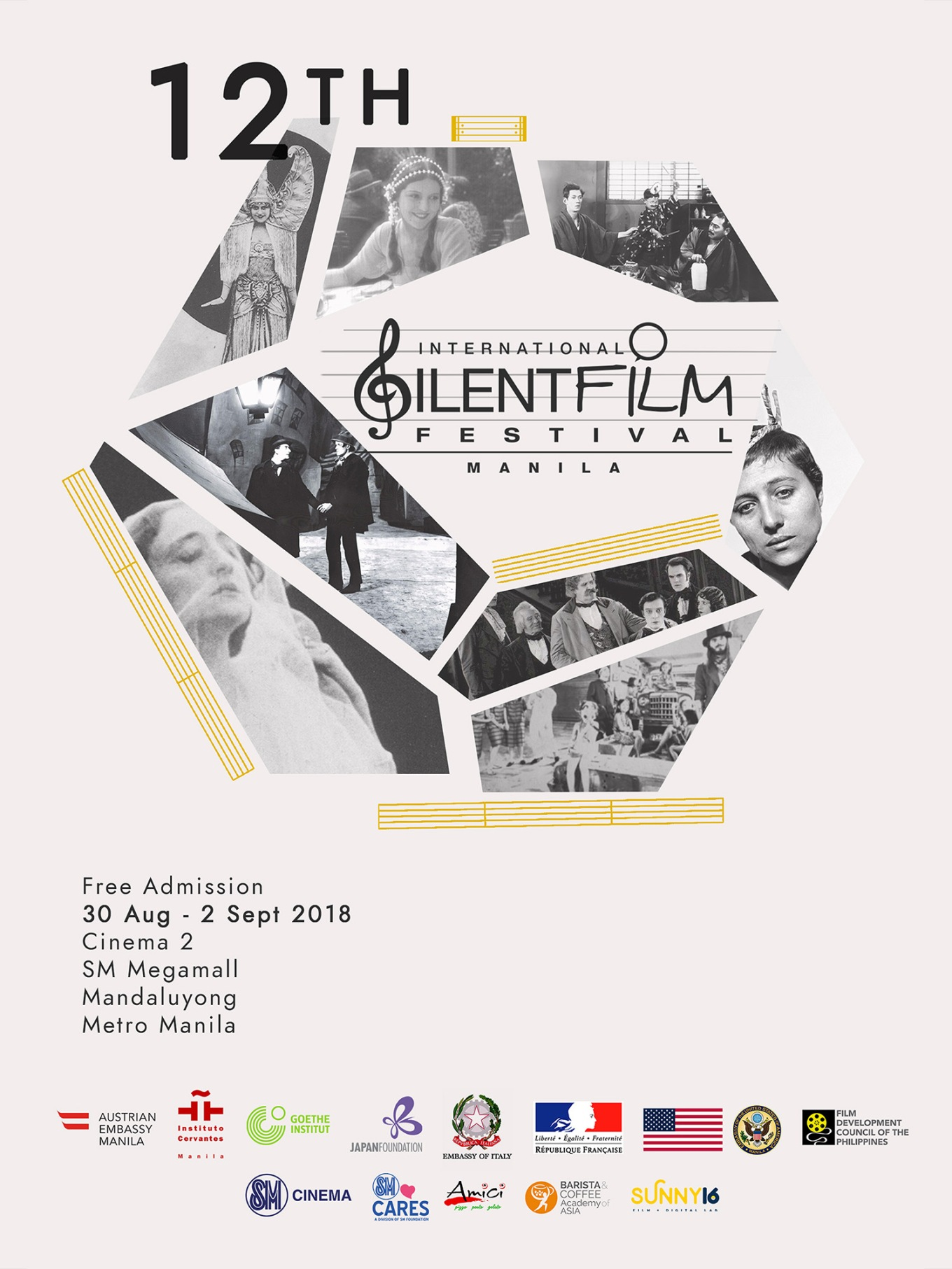ISFF '18 - Silent Film Festival 2018