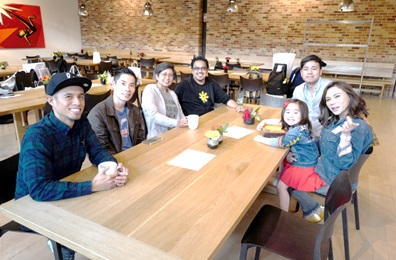 Belo Kho family meets the Filipino artists in Pixar- Paul Abadilla, John Chua, Gini Santos & Bobby Rubio
