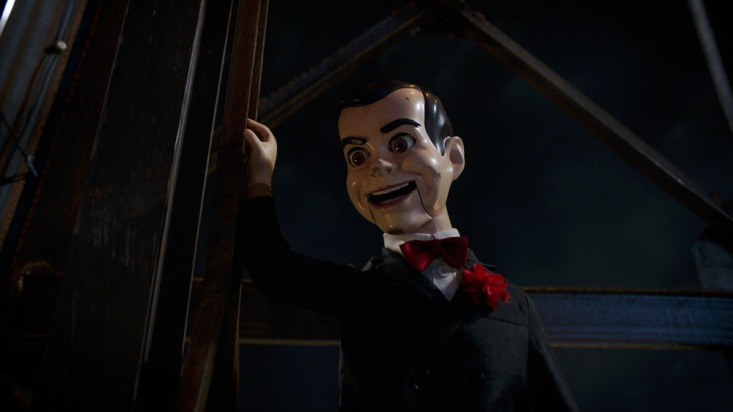 "Slappy brings Halloween to life in Columbia Pictures"" GOOSEBUMPS 2: HAUNTED HALLOWEEN."