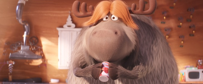 Reindeer Fred discovers the joy of holiday treats in Dr. Seuss' The Grinch from Illumination.