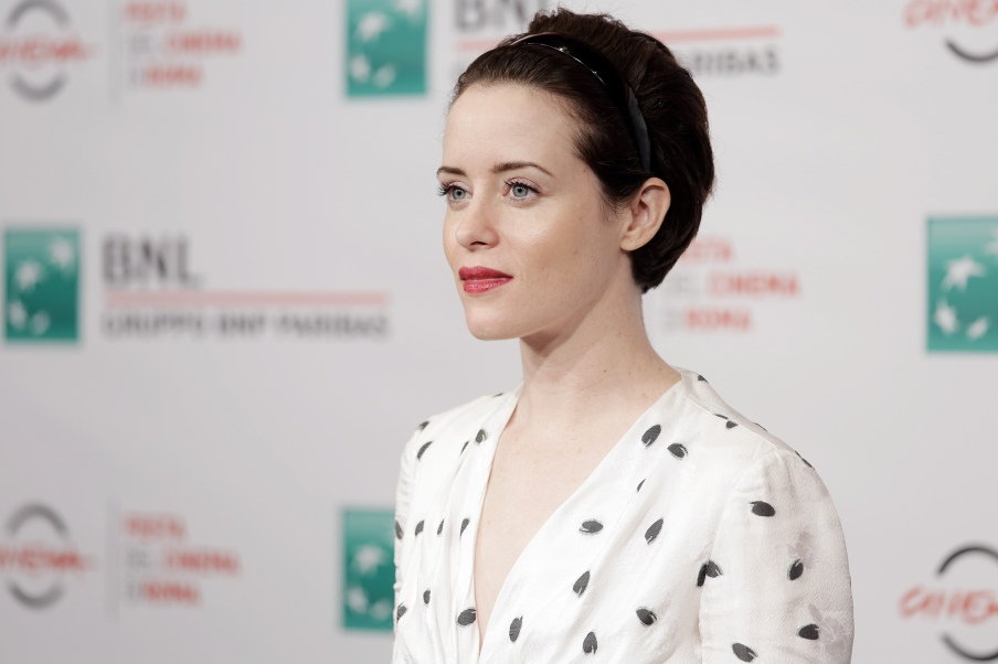 """ROME, ITALY - OCTOBER 24: Actress Claire Foy attends the photocall of """"The girl in the spider's web"""" during the 13th Rome Film Fest at Auditorium Parco Della Musica on October 24, 2018 in Rome, Italy."""