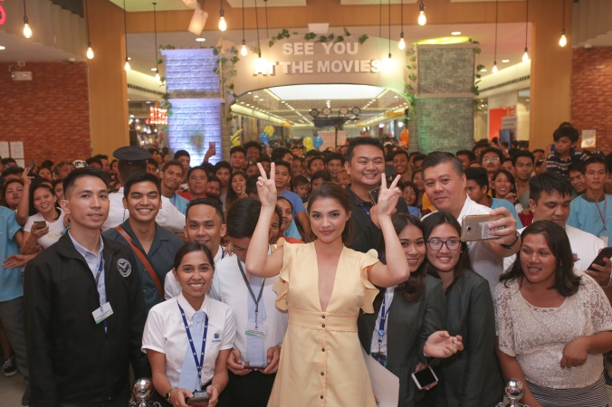 Rhian Ramos at the opening of SM Cinema Ormoc