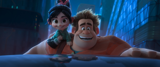 "WORLD WIDE WOW! – Ralph and Vanellope's friendship is challenged when they journey into the internet in search of a replacement part for her game. This vast new world is both incredibly exciting and overwhelming—depending on who you ask. Featuring John C. Reilly as the voice of Ralph, and Sarah Silverman as the voice of Vanellope, ""Ralph Breaks the Internet"" opens in U.S. theaters on Nov. 21, 2018. ©2018 Disney. All Rights Reserved."