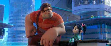 "BEST FRIENDS – In ""Ralph Breaks the Internet,"" video game bad guy Ralph and his best buddy Vanellope journey to the internet in search of a replacement part for her game. Vanellope wholeheartedly embraces this new world, while Ralph can't wait to go home to their comfortable lives. Directed by Rich Moore and Phil Johnston, and produced by Clark Spencer, ""Ralph Breaks the Internet"" opens in U.S. theaters on Nov. 21, 2018. ©2018 Disney. All Rights Reserved."