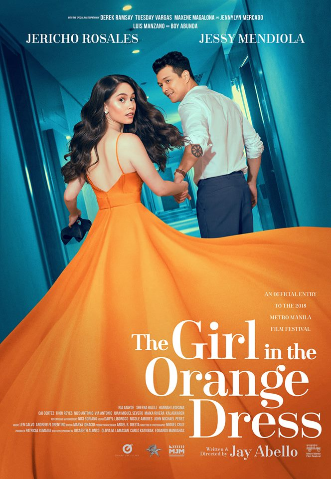 25 The Girl in the Orange Dress