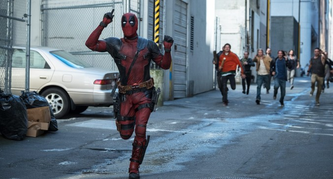 A scene fromn ONCE UPON A DEADPOOL