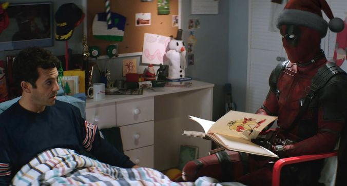 Fred Savage & Ryan Reynolds _ ONCE UPON A DEADPOOL