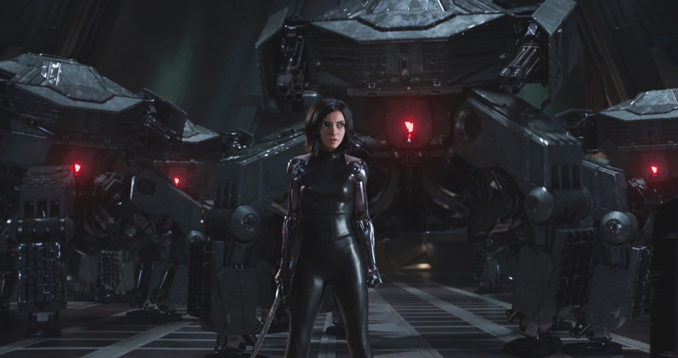 Rosa Salazar stars as Alita in Twentieth Century Fox's ALITA: BA