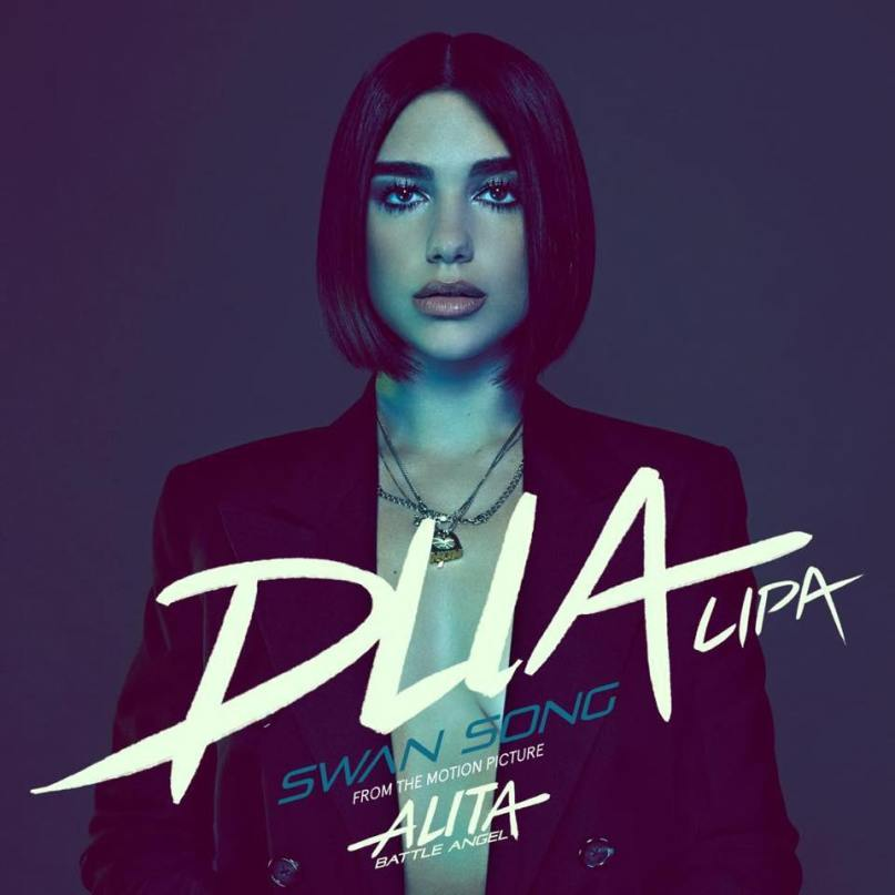 Swan Song in ALITA BATTLE ANGEL by Dua Lipa