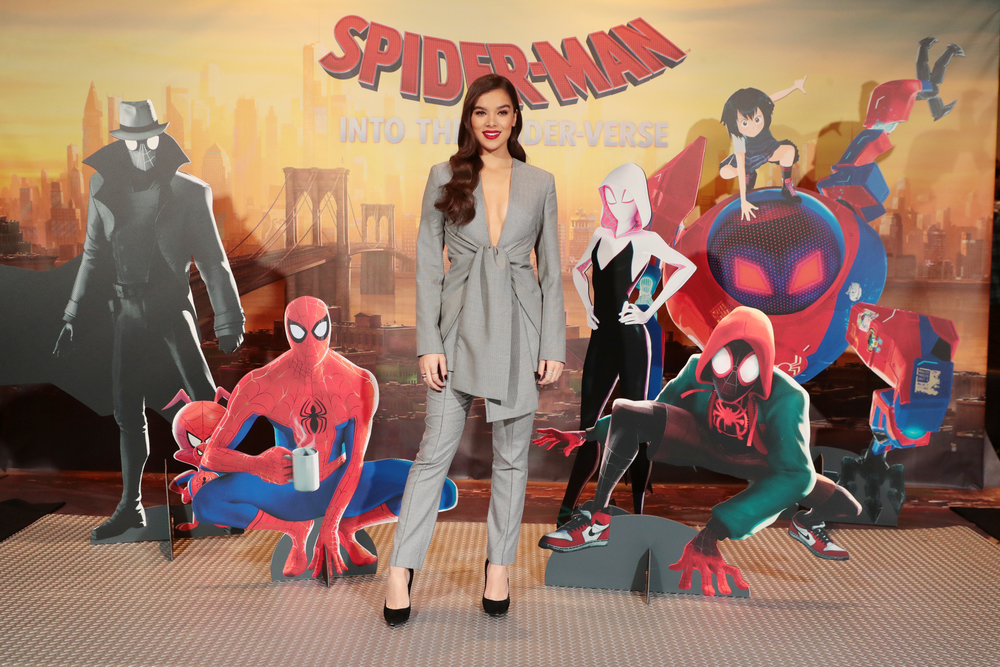 Columbia Pictures and Sony Pictures Animations' SPIDER-MAN: INTO THE SPIDER-VERSE Junket Photo Call, Beverly Hills, USA - 30 November 2018