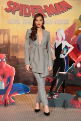 LOS ANGELES, CA - 12/30/18: Hailee Steinfeld at the Junket Photo Call for Columbia Pictures and Sony Pictures Animations' SPIDER-MAN: INTO THE SPIDER-VERSE at the Four Season Hotel
