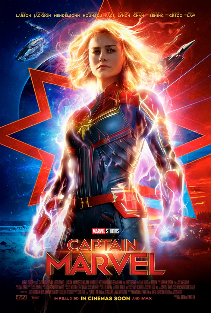 captain marvel payoff poster