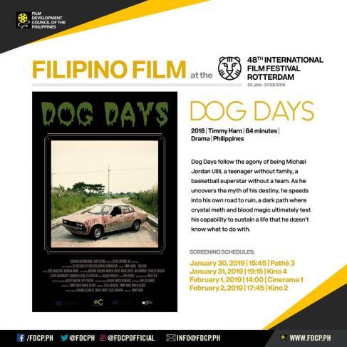 Dog Days art card