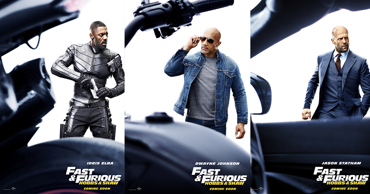 Stars Of Fast Furious Spinoff Hobbs Shaw Get Their