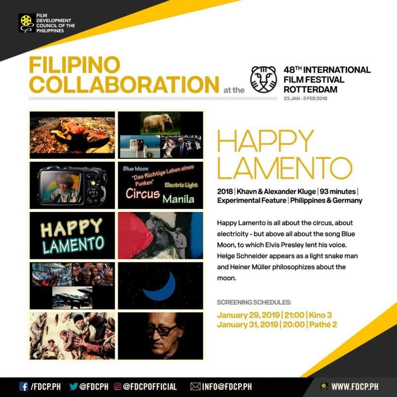 Happy Lamento art card