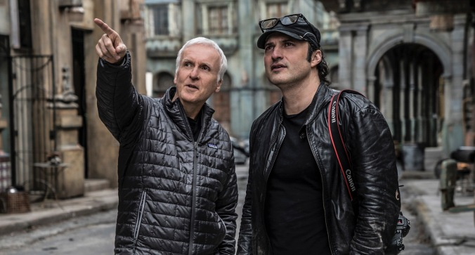 james cameron & robert rodriguez ALITA BATTLE ANGEL