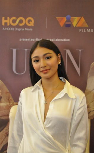 Nadine Lustre at the block screening of HOOQ Original Movie ULAN