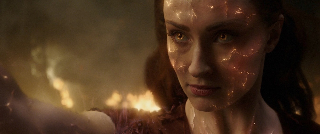 sophie turner in XMEN DARK PHOENIX