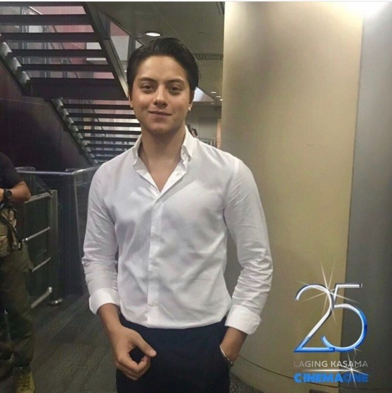 Daniel Padilla for Cinema One's 25th anniversary theme song 'Laging Kasama' (2)