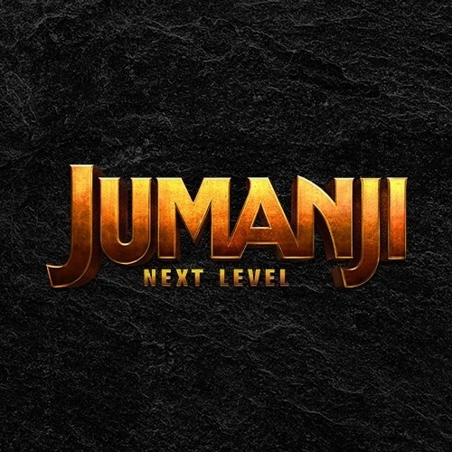 JUMANJI_NEXT LEVEL - Title Treatment