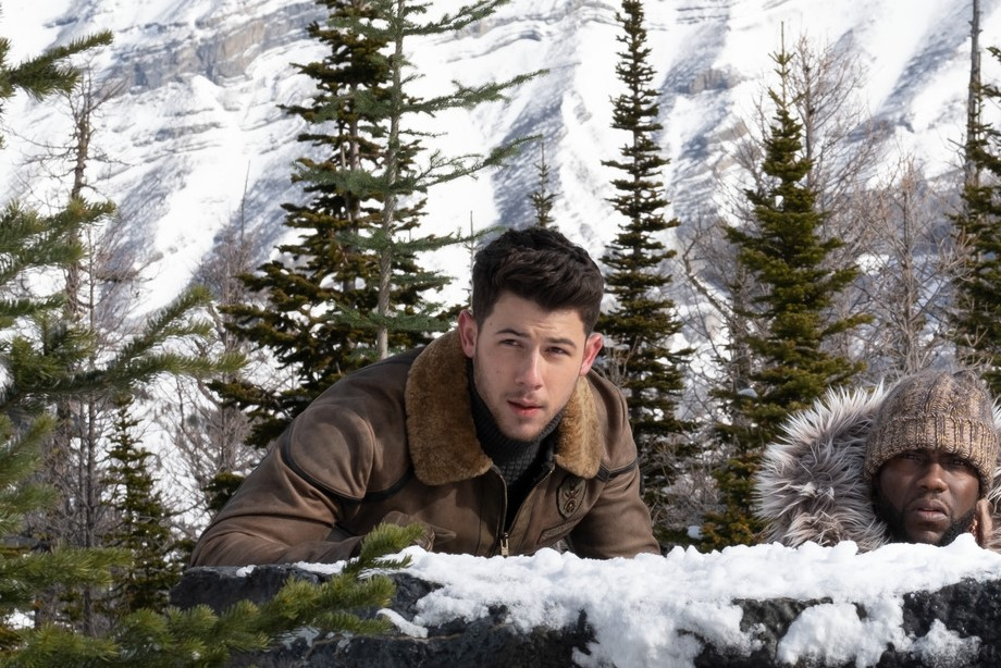 Nick Jonas, Kevin Hart and Karen Gillan star in Jumanji: The Next Level