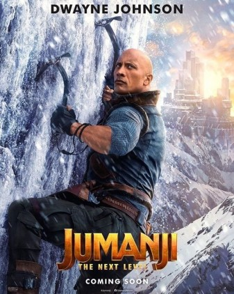 Jumanji 2 Dwayne Johnson