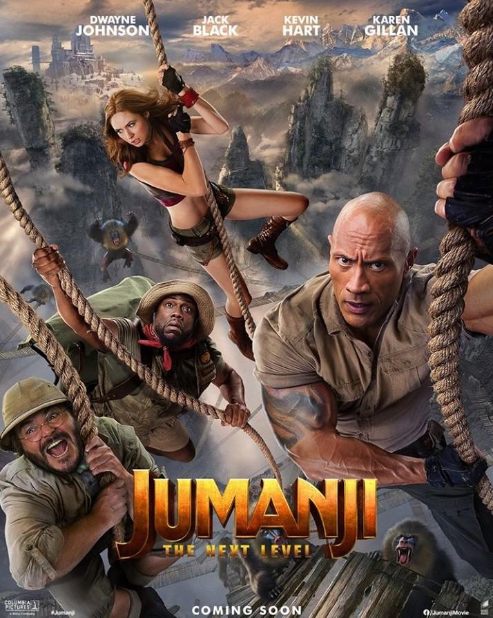Jumanji 2 Poster3