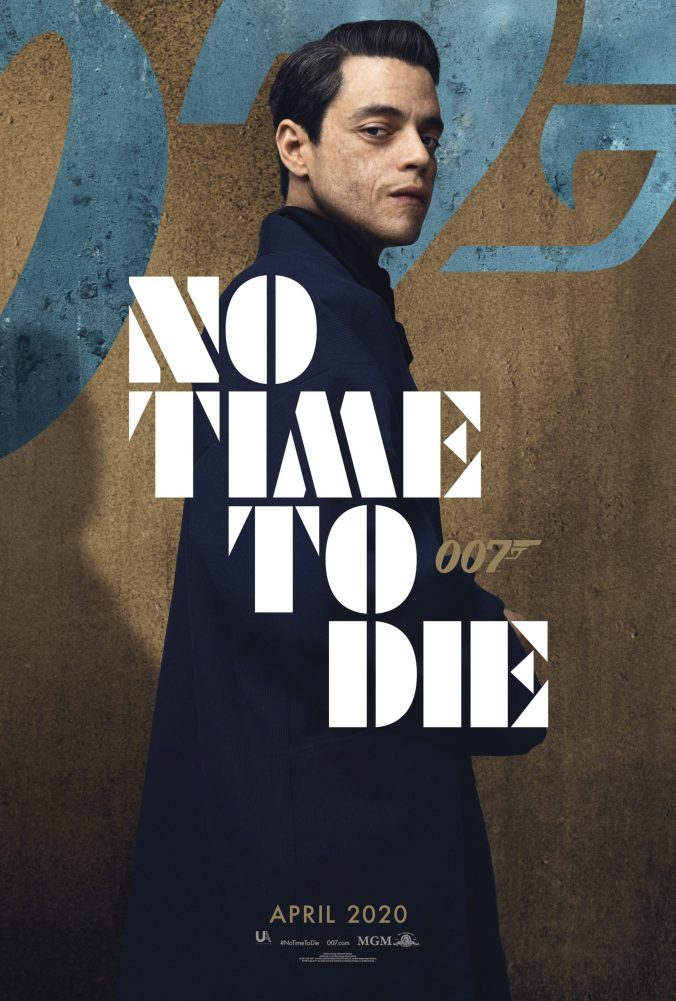 no-time-to-die-rami-malek-poster-scaled
