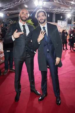 "BERLIN, GERMANY - JANUARY 07: (L-R) Bilall Fallah and Adil El Arbi attend the Berlin premiere of ""Bad Boys For Life"" at Zoo Palast on January 07, 2020 in Berlin, Germany. (Photo by Sebastian Reuter/Getty Images for Sony Pictures)"