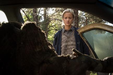 Andrea Risenborough in Screen Gems' GRUDGE.