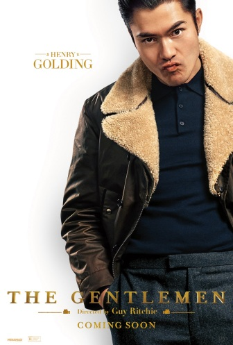 henry golding in THE GENTLEMEN