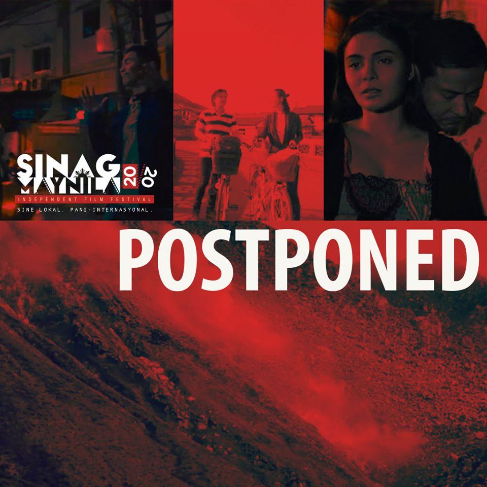 Sinag Maynila Postponed