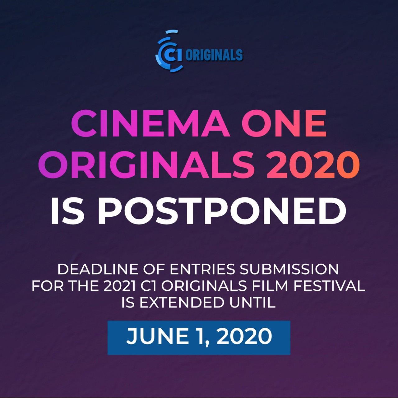 C1 ORIGINALS IS POSTPONED _ ENGLISH 1