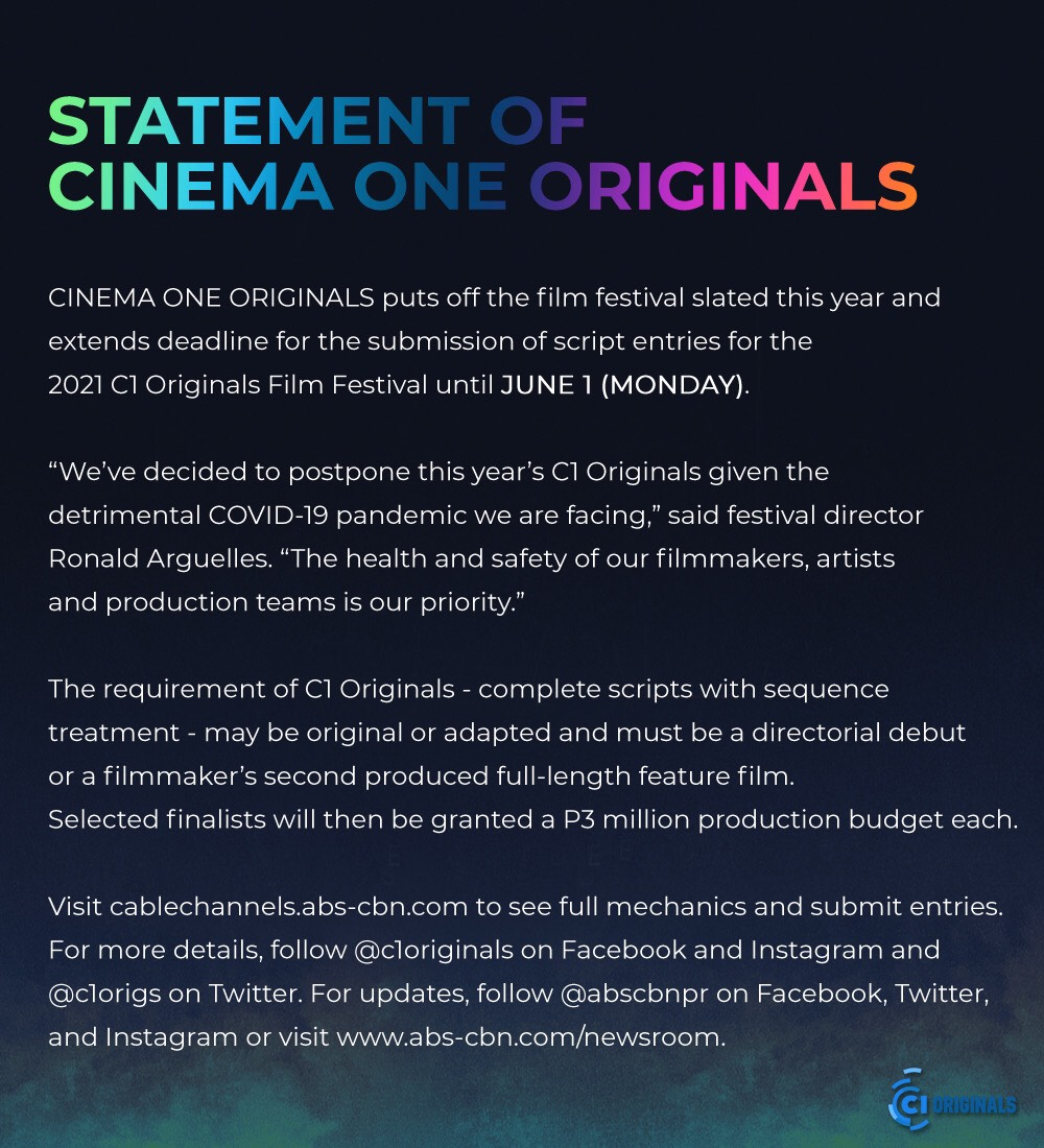 C1 ORIGINALS IS POSTPONED _ ENGLISH 2