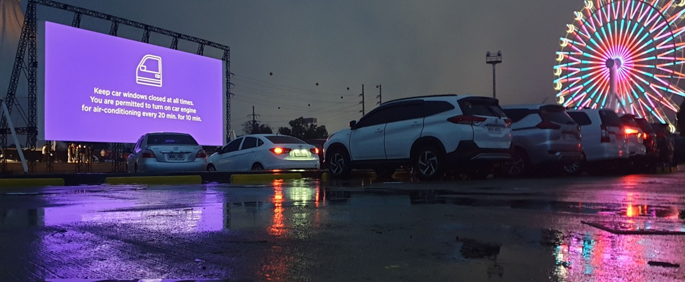SM Pampanga Drive In Cinema